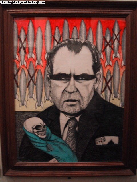 TMLMTBGB: Presidential portrait: Nixon, bombs and dead baby.