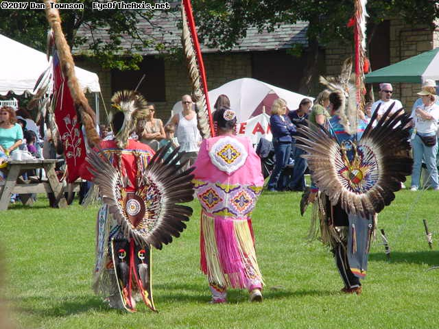 Pow-Wow in Thatcher Woods.