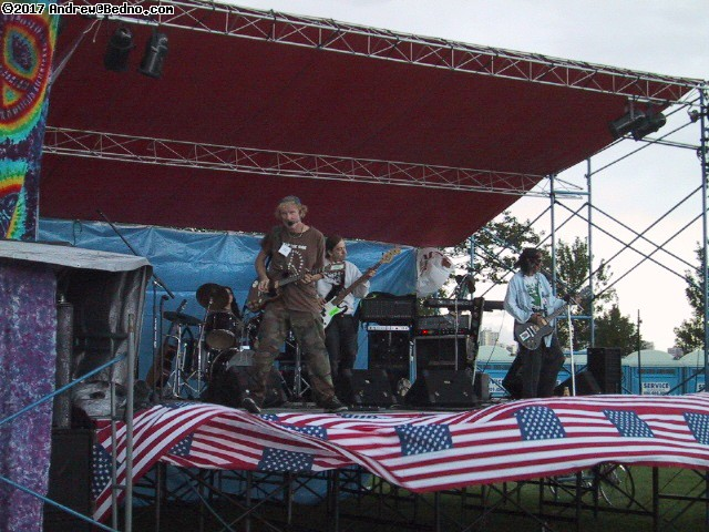 Genral Patton and his privates band.