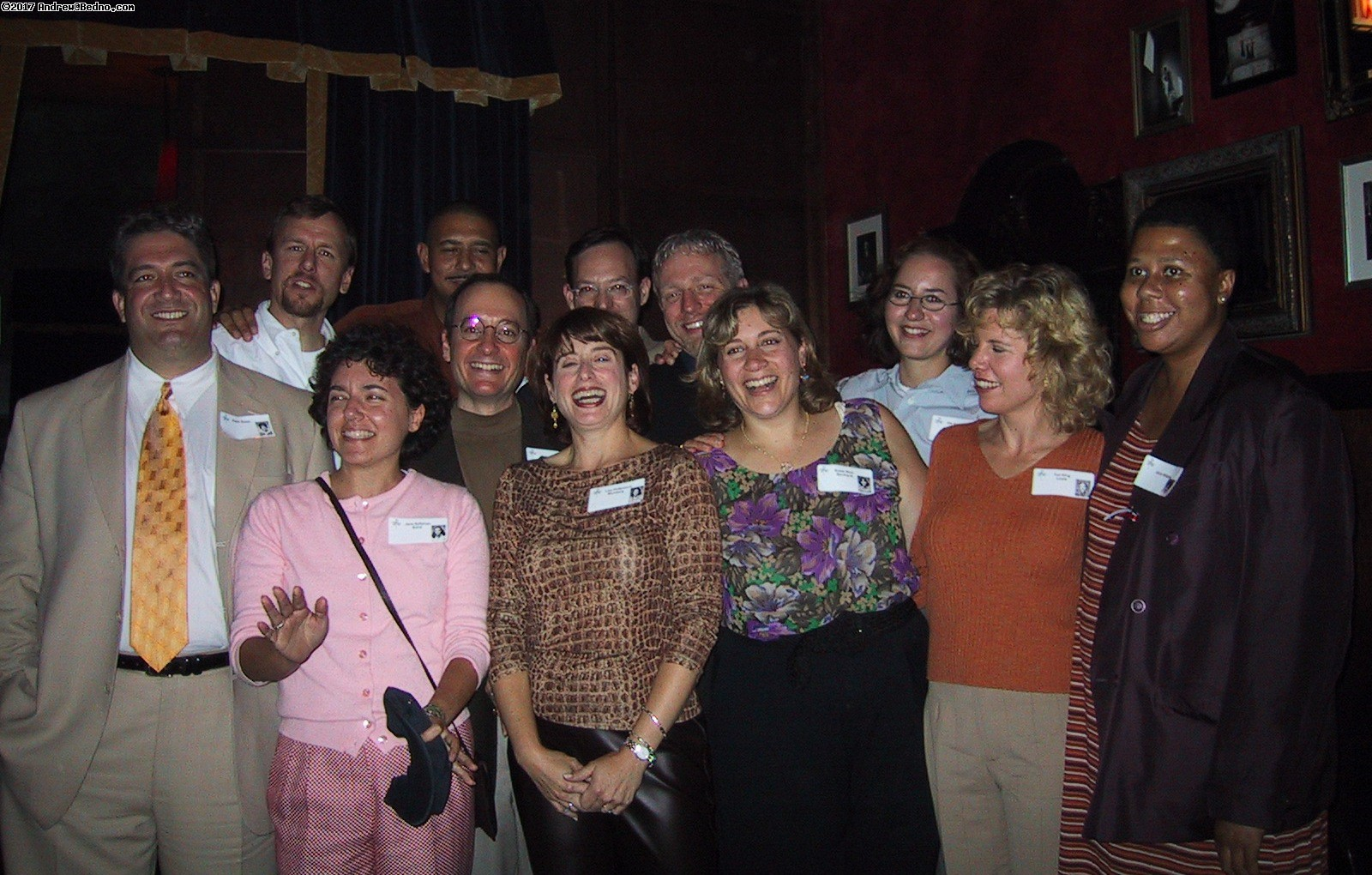 FWP 1981 reunion: These folks are the FWP lifers, attended all fourteen years.