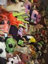 Fantasy Costume: Rubber masks department: Masks, masks, masks, masks. (click to zoom)