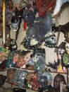 Fantasy Costume: Rubber masks department: Dungeon characters. (click to zoom)