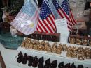 ChinaTown: Buddhas and flags. (click to zoom)