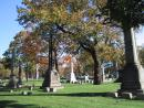 Graceland Cemetery: Obelisks. (click to zoom)