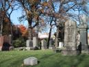 Graceland Cemetery: Monuments. Whitney, etc. (click to zoom)