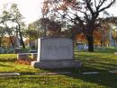 Graceland Cemetery: Monument. Stevenson. (click to zoom)