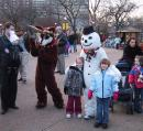 Lincoln Park Zoo: Rudolph and Frosty. (click to zoom)