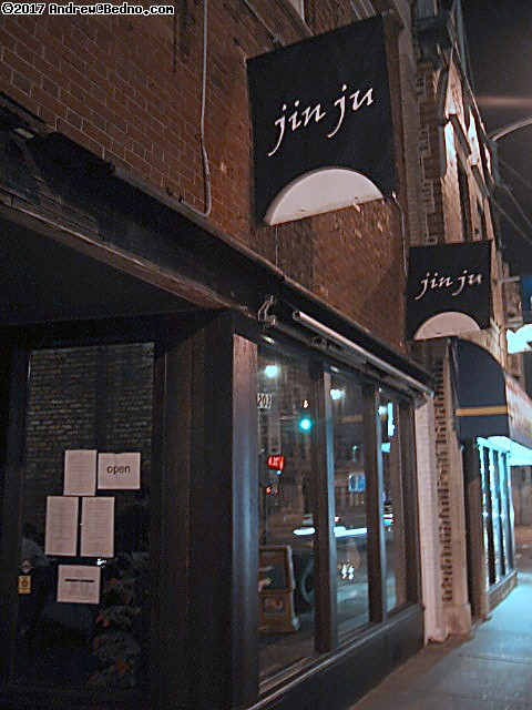 Jin Ju restaurant, 773/334-1772, 5203 N. Clark. Featuring contemporary Korean cuisine.