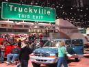 Chicago Auto Show: Truckville. (click to zoom)