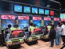Chicago Auto Show: Daytona USA games. (click to zoom)