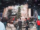Chicago Auto Show: Jeeps, actual waterfall. (click to zoom)