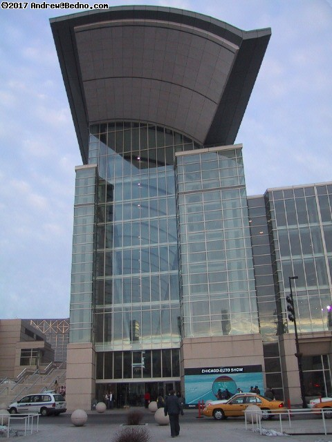 Chicago Auto Show: McCormick Place.
