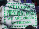 Saint Patrick's Day parade: Bush supporters. (click to zoom)