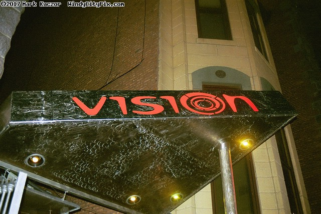 Spundae at Vision: Outside in front.