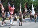 Vernon Hills Independence Day Parade: Boy Scouts. (click to zoom)