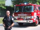 Vernon Hills Independence Day Parade: Fire department. (click to zoom)