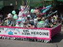 Evanston Independence Day parade: Girl Scout Heroine. (click to zoom)