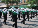 Evanston Independence Day parade: Serious marching band. (click to zoom)