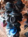 Donley's Wild West Town: Shop: Hats. (click to zoom)