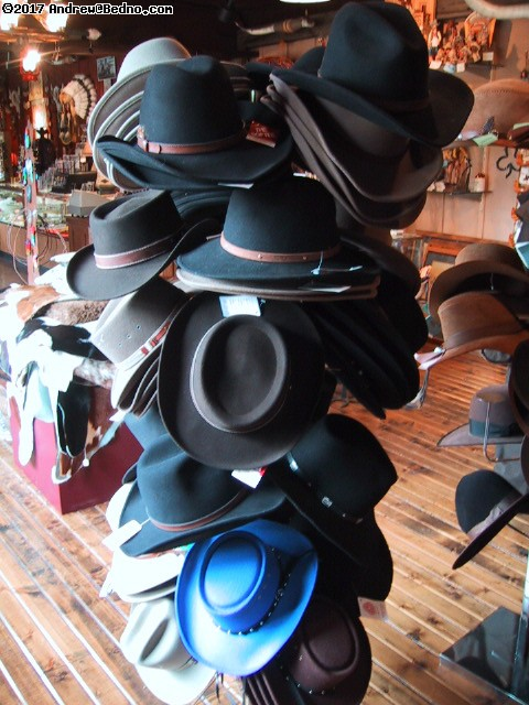 Donley's Wild West Town: Shop: Hats.