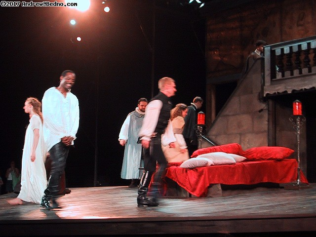 Shakespeare on the Green presents Othello at Barat College.
