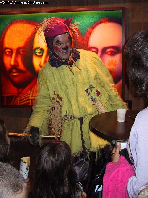 Chicago Shakespeare Theater: The Scarecrow autographing.