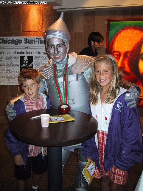Chicago Shakespeare Theater: The Tin Man autographing.
