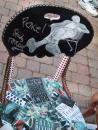 Andersonville giant yard sale: Studs Terkel chair. (click to zoom)