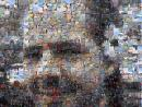 Photo mosaic of Andrew: Zoomed out by 2, 960x720 >300K. (click to zoom)