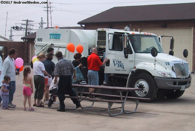 Vernon Hills Public Works Department Open House.