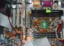 600MHz motherboard. (click to zoom)