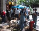 Giant yard sale in Andersonville. (click to zoom)