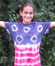 American Flag Tie Dye project. (click to zoom)