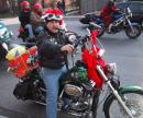Toys For Tots motorcycle parade. (click to zoom)