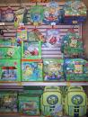 Spongebob products. (click to zoom)