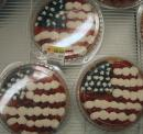 American flag fresh fruit tart. (click to zoom)