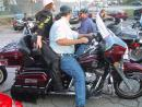 Motorcycle charity event stop at Uncle Paulie's. (click to zoom)