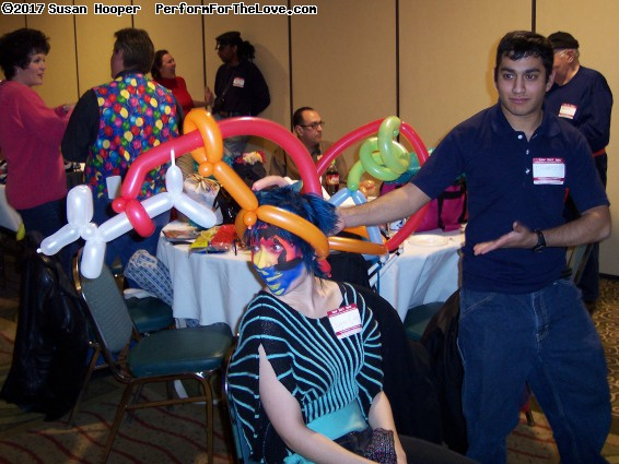 Halloween and Party Trade Show. Balloon Jam.