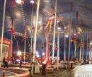 Carson and Barnes Circus. (click to zoom)