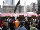 Christkindlmarket in Daley Plaza. (click to zoom)