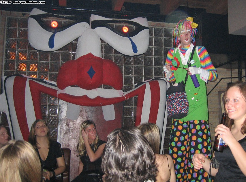 Circus theme Akira fashion event at Enclave.