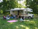 Camping in Watseka. (click to zoom)