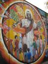 Jesus mural in Uptown. (click to zoom)