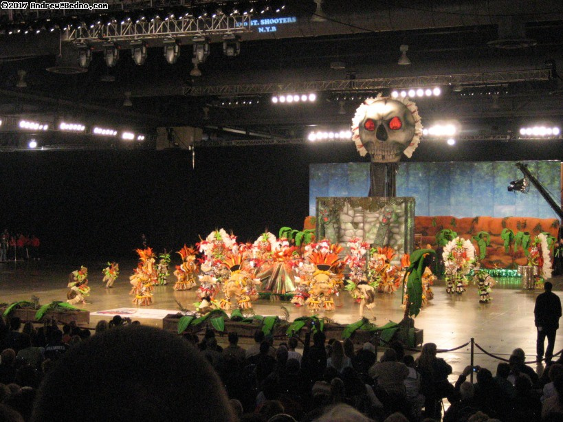 Mummers New Years Day performances in Philadelphia.