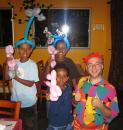 Smarty Pants balloon art at Ranalli's restaurant. (click to zoom)