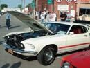 Cruise Nite in Earlville. (click to zoom)
