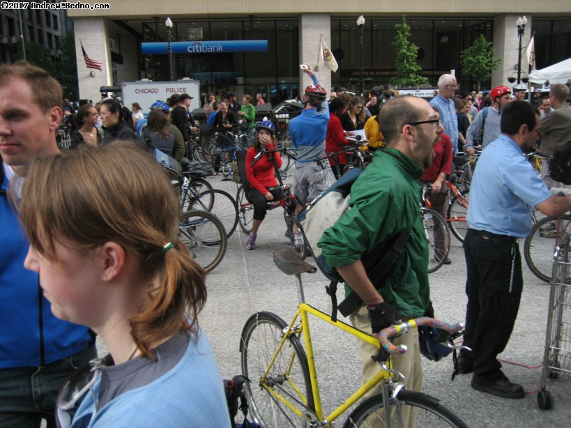 Chicago Critical Mass.