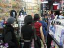 Jhonen Vasquez book signing at Chicago Comics. (click to zoom)