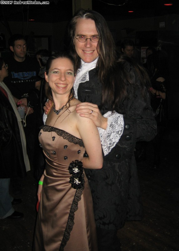 Gothic Winter Carnival and masquerade with Voltaire at Abbey Pub.