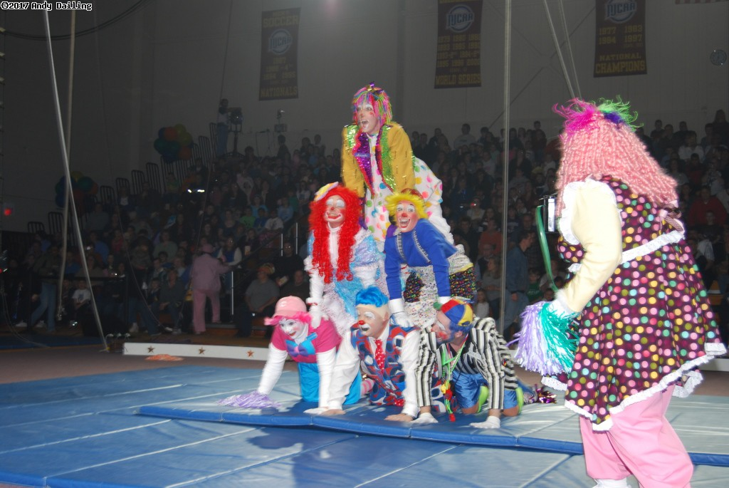 Triton Troupers Circus shows.